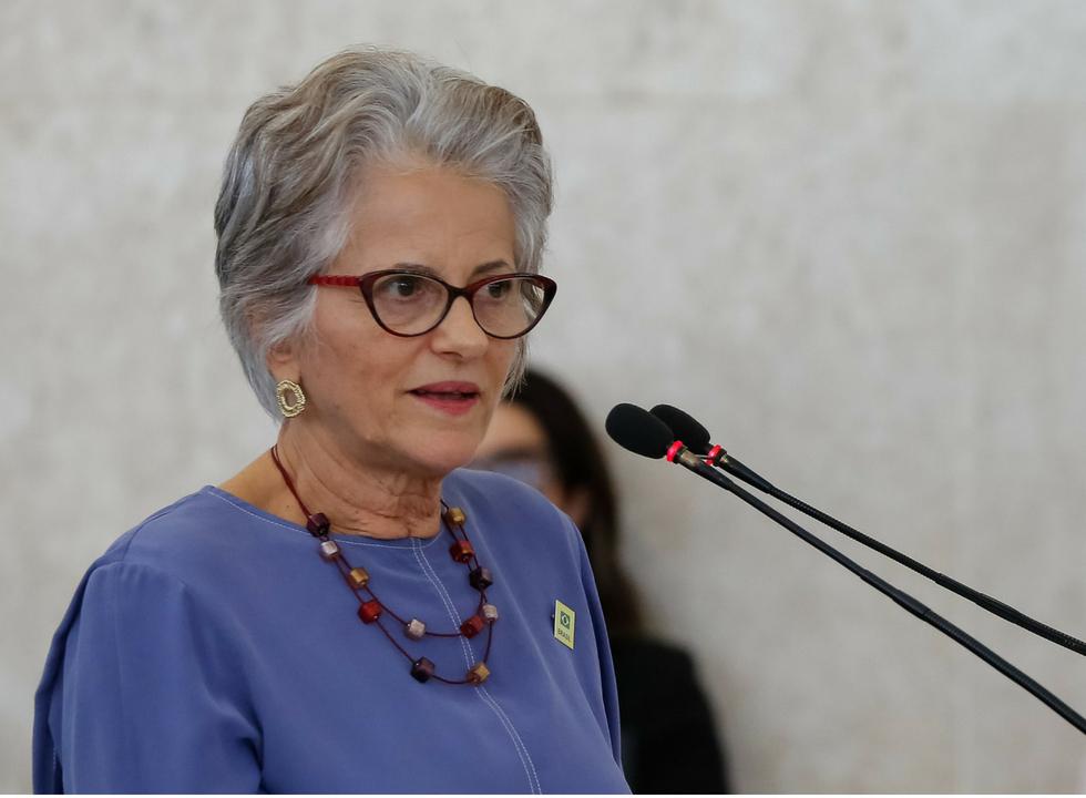 Marilena Lazzarini, presidente do conselho diretor do Idec. Foto Marcos Corrêa/PR