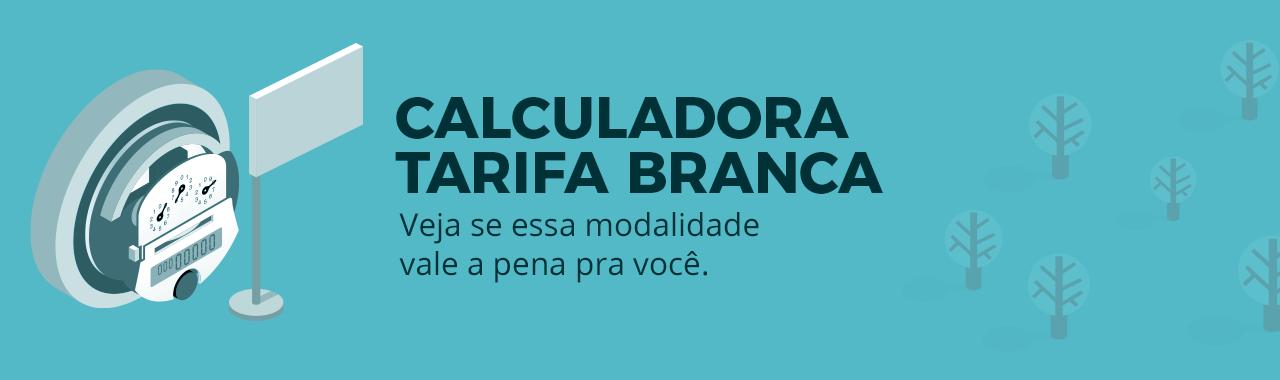 CALCULADORA DA TARIFA BRANCA