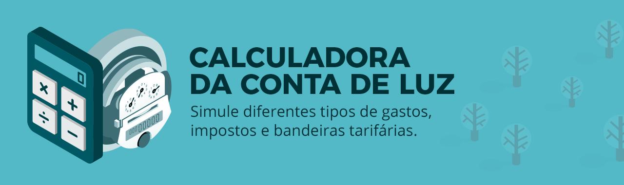 CALCULADORA DA CONTA DE LUZ