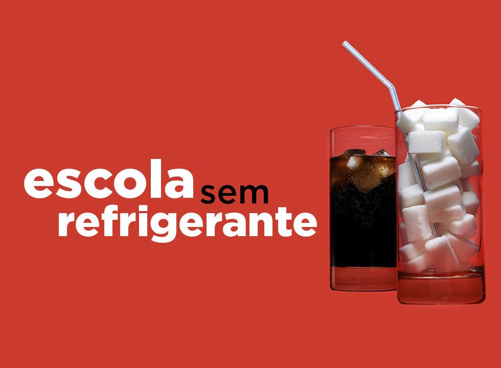 Escola sem refrigerante