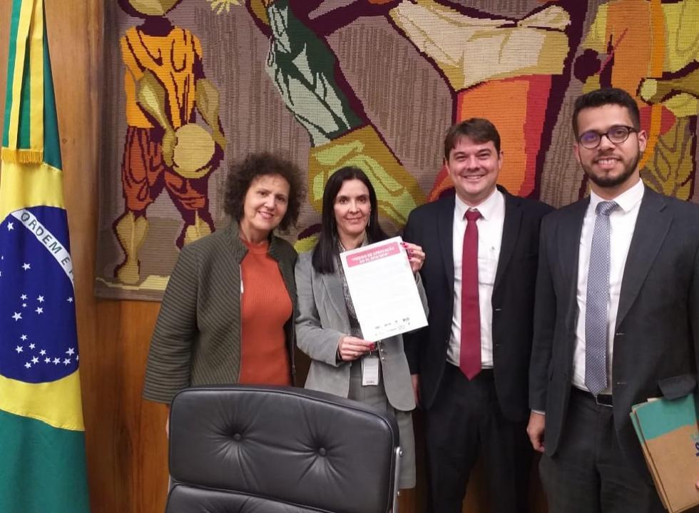 Representantes do Idec na criação da comissão da Câmara que analisou o PL do Superendividamento