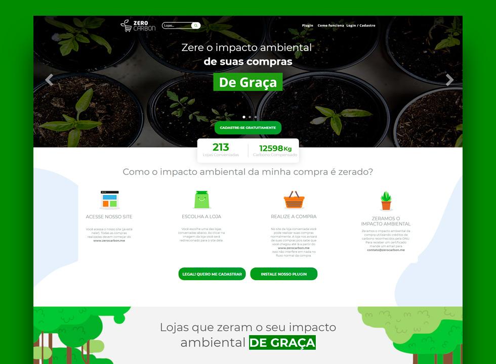 Zerocarbon.me; Covardia Capital; e app sobre recursos da Saúde