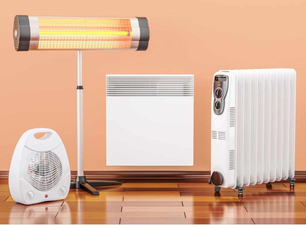 Saiba como escolher o melhor tipo de aquecedor elétrico para sua casa