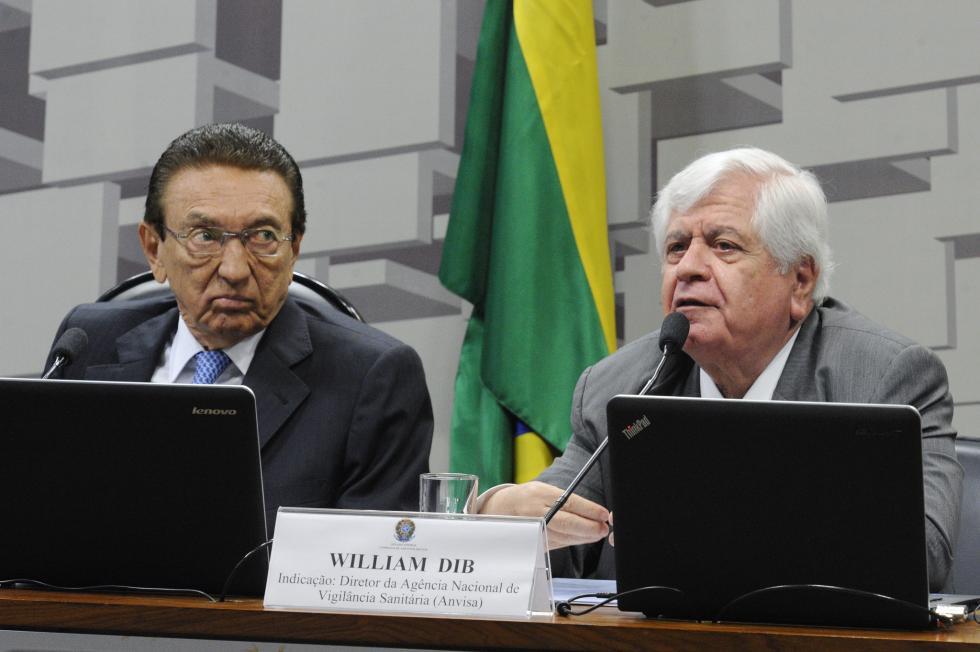 Willian Dib, diretor-presidente da Anvisa. Foto: Edilson Rodrigues/Agência Senado