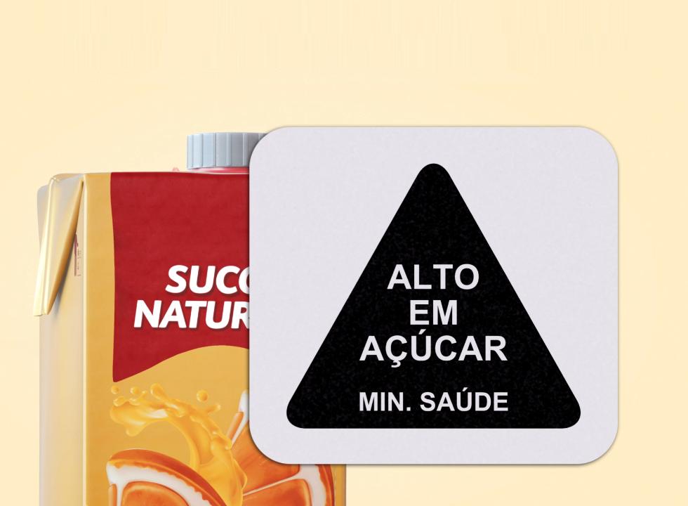 Estudos mostram eficiência da advertência de triângulo em rótulo nutricional