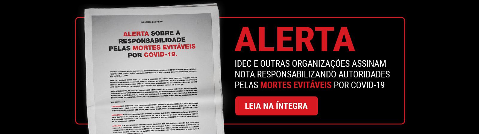Alerta - Covid