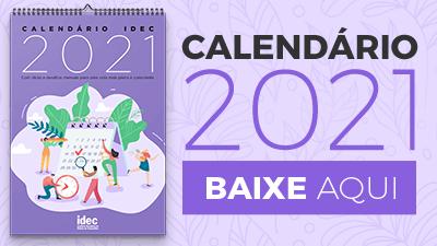 Calendário Idec 2021