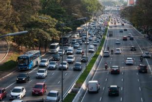 Avenida 23 de Maio em São Paulo