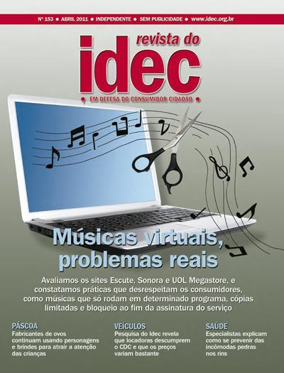 Músicas virtuais, problemas reais