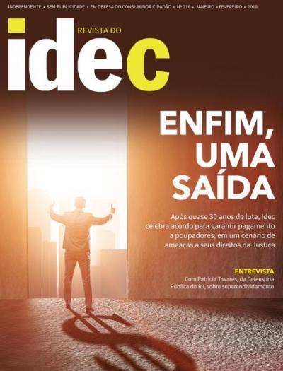 Capa da Revista 216